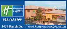 Holiday Inn Express - 3454 Ranch Drive Prescott, Arizona 86303