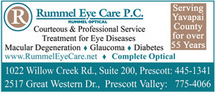 Rummel Eye Care - 1022 Willow Creek Road, Suite 200 Prescott, Az 86301
