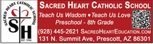 Sacred Heart Catholic School - 131 N .Summit Avenue Prescott, AZ 86301