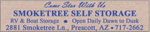 Smoketree Self Storage - 2881 Smoketree Ln Prescott, Arizona