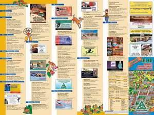 2002 -2003 Back of Map Lists all advertisers