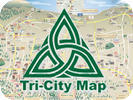 Tri-City Map - Prescott Map - Local Print, Web, Online Advertising - Current 2015 Map