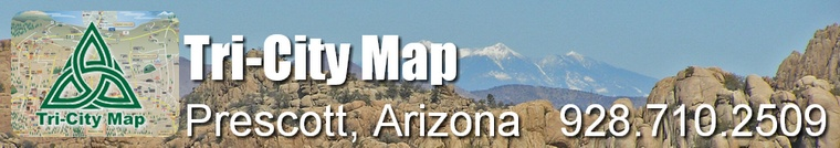 Current 2015 Map - Tri-City Map, LLC. - Prescott, Arizona